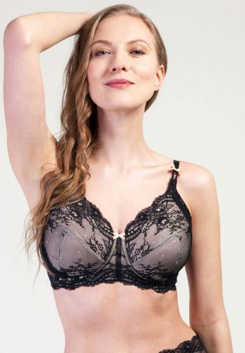 Grace Mastectomy Bra in Black and Nude